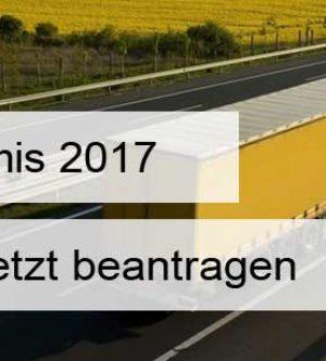 De-minimis Förderperiode 2017 hat begonnen