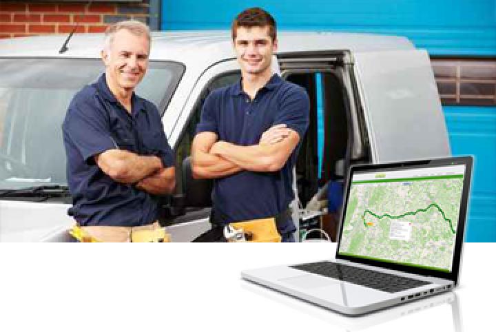 Fahrzeugortung und GPS Ortung mit Sinos