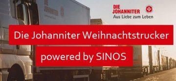 Tracking der Johanniter-Weihnachtstrucker 2017