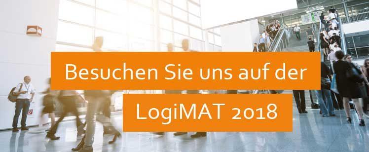 Besuchen Sie uns vom 13. bis 15 März 2018 auf der LogiMAT