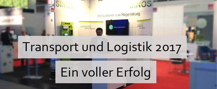 Transport Logistic 2017 – Ein voller Erfolg für SINOS